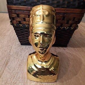 Egyptian Queen Nefertiti Bust Ceramic